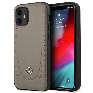 Mercedes iPhone 12 mini Lederhülle / Cover / Case / Etui Urban Line Braun
