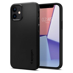 Spigen Thin Fit Hülle iPhone 12 mini 5,4 schwarz