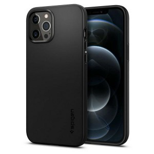 Spigen Thin Fit Hülle iPhone 12 Pro Max 6,7 schwarz