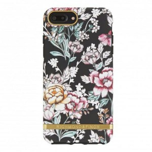 Richmond & Finch Cover Black Floral iPhone 6 Plus / 6s Plus / 7 Plus / 8 Plus pink