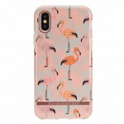 Richmond & Finch iPhone Xs / X Cover Pink Flamingo