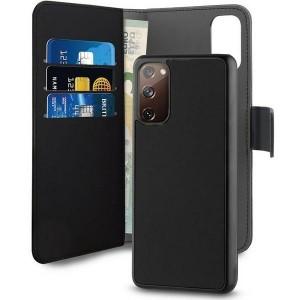 Puro Samsung S20 SE G780 Wallet Book Handytasche + Hülle 2in1 Schwarz