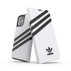 Adidas iPhone 12 mini OR Booklet Case PU white black