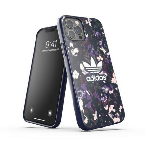 Adidas iPhone 12 / 12 Pro Case Cover Hülle OR Snap Graphic lila