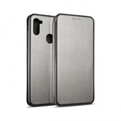 Beline Handytasche Samsung A42 Magnetic silber