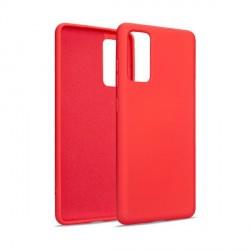 Premium Liquid Silicon Samsung S20 FE Case Cover Hülle rot