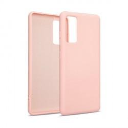 Premium Liquid Silicon Samsung S20 FE Case Cover Hülle rose gold