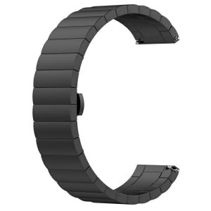 Beline Stahl Armband Watch 20mm Watch 3 42 Huawei Watch GT 2 Garmin Vivomove, Vivoactive 3 schwarz