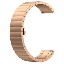 Beline Stahl Armband Watch 20mm Watch 3 42 Huawei Watch GT 2 Garmin Vivomove, Vivoactive 3 rose gold