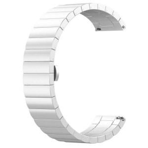 Beline Stahl Armband Watch 20mm Watch 3 42 Huawei Watch GT 2 Garmin Vivomove, Vivoactive 3 silber