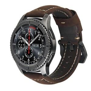 Beline Armband 20mm Samsung Watch 3 Active / Huawei / Garmin 42mm braun M6