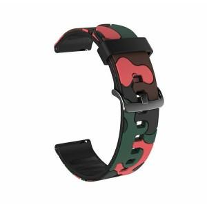 Beline Silikon Armband Watch Active / 3 20 mm 41mm Huawei GT 2 Garmin Vivomove, Vivoactive 3 Camo 1