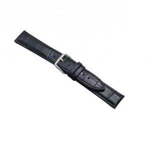 Beline Armband 20mm Watch Samsung, Huawei, Garmin Croco Schwarz