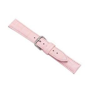 Beline Armband 20mm Watch Samsung, Huawei, Garmin Croco Rose / Pink