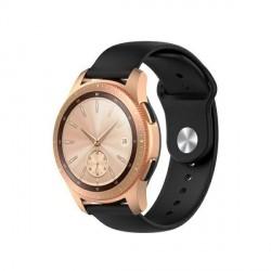 Beline Silikon Armband Watch Active / 3 20 mm 41mm Huawei GT 2 Garmin Vivomove, Vivoactive 3 Everyday schwarz