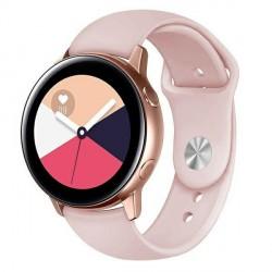 Beline Silikon Armband Watch Active / 3 20 mm 41mm Huawei GT 2 Garmin Vivomove, Vivoactive 3 Everyday pink