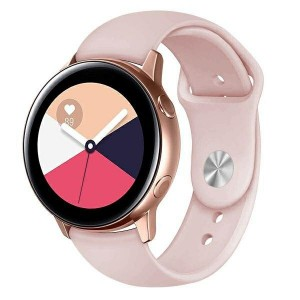 Beline Silikon Armband Watch Active / 3 20 mm 41mm Huawei GT 2 Garmin Vivomove, Vivoactive 3 Everyday pink