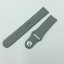 Beline Silikon Armband Watch Active / 3 20 mm 41mm Huawei GT 2 Garmin Vivomove, Vivoactive 3 Everyday grau