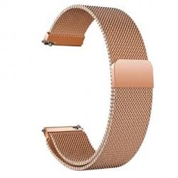 Beline Magnetarmband Watch 20mm Fancy Samsung, Huawei, Garmin Edelstahl rose gold
