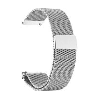 Beline Magnetarmband Watch 20mm Fancy Samsung, Huawei, Garmin Edelstahl silber