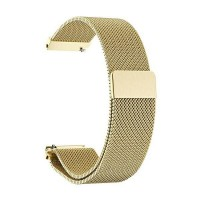 Beline Magnetarmband Watch 20mm Fancy Samsung, Huawei, Garmin Edelstahl gold