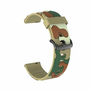 Beline Silikon Armband Watch Active / 3 20 mm 41mm Huawei GT 2 Garmin Vivomove, Vivoactive 3 Camo 7