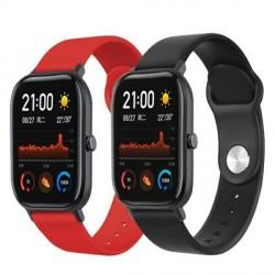 Beline Silikonarmband Watch 22mm Samsung Gear S3 / Active Watch 3 / Huawei GT 2 Proi Everyday rot