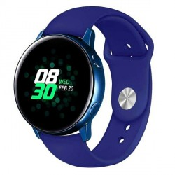 Beline Silikonarmband Watch 22mm Samsung Gear S3 / Active Watch 3 / Huawei GT 2 Proi Everyday blau
