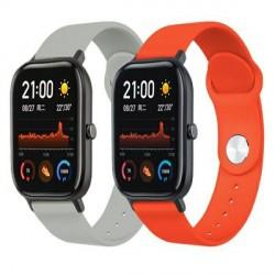 Beline Silikonarmband Watch 22mm Samsung Gear S3 / Active Watch 3 / Huawei GT 2 Proi Everyday orange