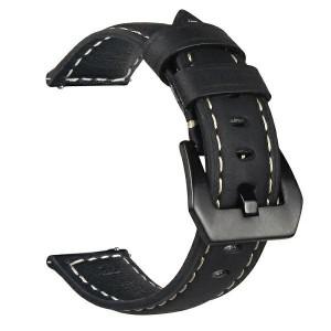 Beline Armband 20mm Samsung Watch 3 Active / Huawei / Garmin 42mm schwarz M7