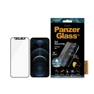 PanzerGlass iPhone 12 Pro Max Panzer Displayschutz Microfracture