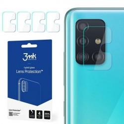 3MK Kameraobjektiv Glas Samsung A51 Kameraobjektivschutz 4 Stück