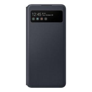 Original Samsung EF-EA426PB A42 5G S View Wallet Cover schwarz