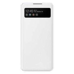 Original Samsung EF-EA426PW A42 5G S View Wallet Cover weiß