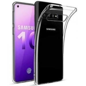 Schutzhülle / Handyhülle für Samsung Galaxy S10 voll transparent
